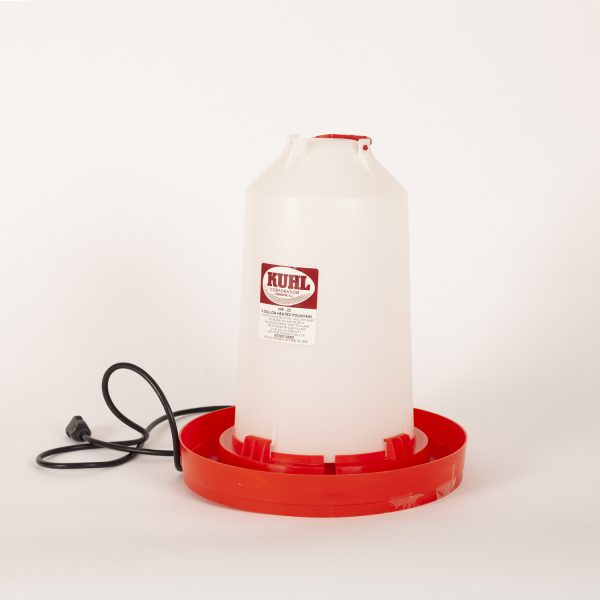 3 Gallon Heater Water Fountain