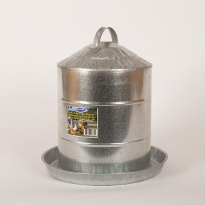 5 Gallon Galvanized Feeder