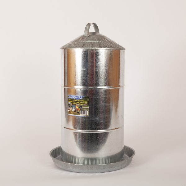 8 Gallon Galvanized Feeder