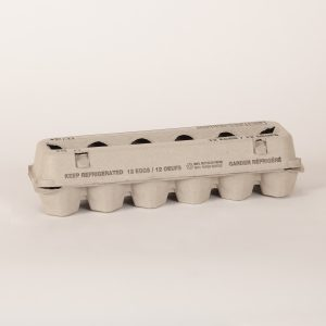 Open Top Fibre Generic Egg Carton